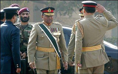 Musharraf steps down as Chief of Army Staff