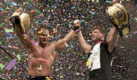 DEAD- WWE stars Chris Benoit and Eddie Gurrero