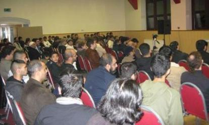 Hundreds attend the Question Time Event