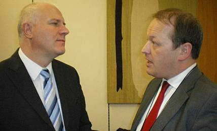 Simon Danczuk and Bill Rammell MP