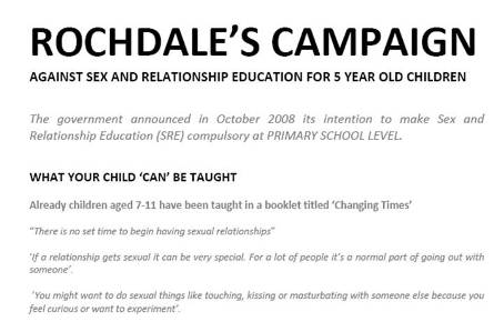 Download the Rochdale Leaflet for your local area campaign