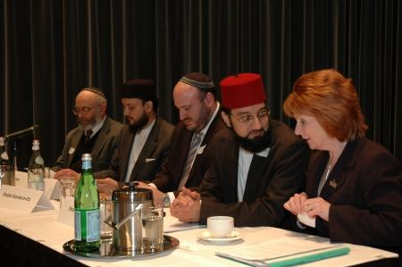 Hazel Blears with Rochdale based Imam Irfan Chisti who is spear heading the ICE Project in Oldham and Rochdale