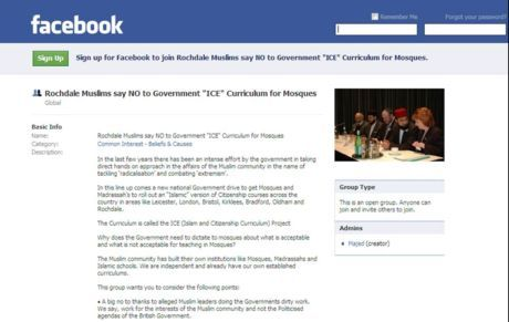 Rochdale Facebook ICE Campaign- SIGN UP AND JOIN THE GROUP