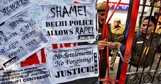 India Rape Outrage